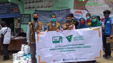 Bantuan Untuk Warga Cicurug-Sukabumi